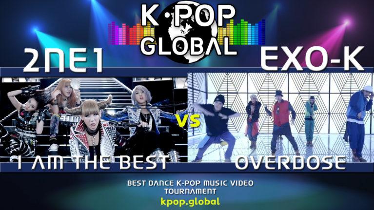 2NE1 내가 제일 잘 나가 (I AM THE BEST) VS EXO-K 엑소케이 '중독(Overdose)