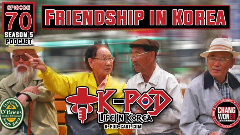 Friendship In South Korea